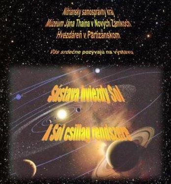 "Astronomická výstava ""Sústava hviezdy Sol"""