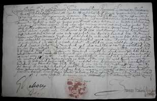 Listina Juraja I. Rákociho z roku 1644